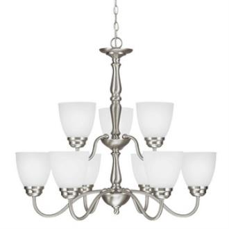 Sea Gull Lighting 3112409BLE-962 Northbrook - Nine Light Chandelier