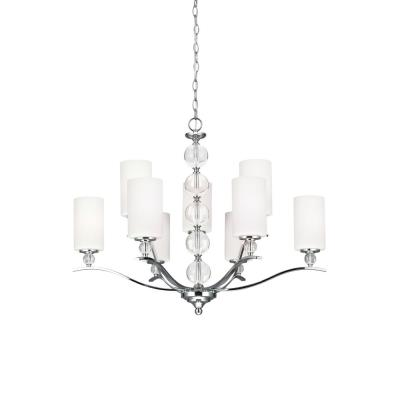Sea Gull Lighting 3113409-05 Englehorn - Nine Light Chandelier
