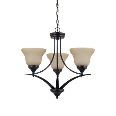 Sea Gull Lighting 31173-710 Brockton - Three Light Chandelier