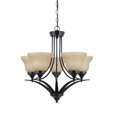 Sea Gull Lighting 31174-710 Brockton - Five Light Chandelier