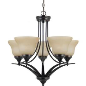 Sea Gull Lighting 31174BLE-710 Brockton - Five Light Chandelier