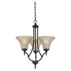 Sea Gull Lighting 31180-710 Montreal - Three Light Chandelier