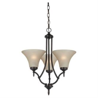 Sea Gull Lighting 31180BLE-710 Montreal - Three Light Chandelier