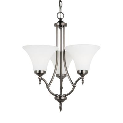 Sea Gull Lighting 31180BLE-965 Montreal - Three Light Chandelier