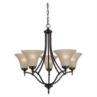 Sea Gull Lighting 31181-710 Montreal - Five Light Chandelier