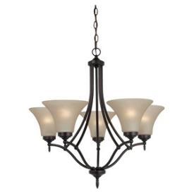 Sea Gull Lighting 31181BLE-710 Montreal - Five Light Chandelier