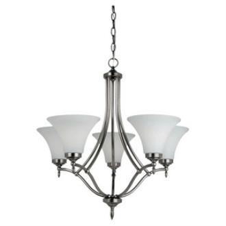 Sea Gull Lighting 31181BLE-965 Montreal - Five Light Chandelier