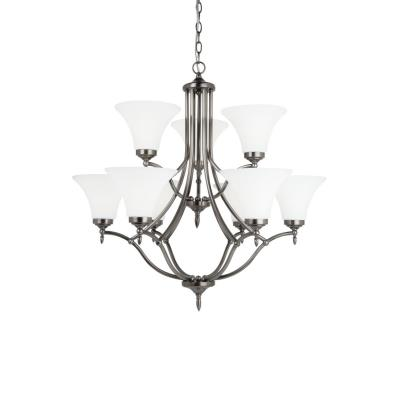 Sea Gull Lighting 31182-965 Montreal - Nine Light Chandelier