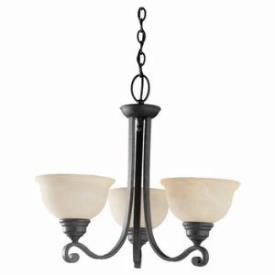 Sea Gull Lighting 31190-07 Three-Light Serenity Chandelier