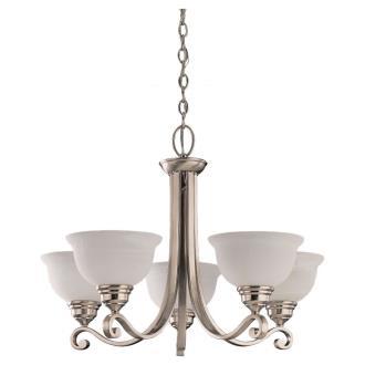 Sea Gull Lighting 31191-962 Five-Light Serenity Chandelier