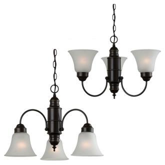 Sea Gull Lighting 31235-782 Linwood - Three Light Chandelier
