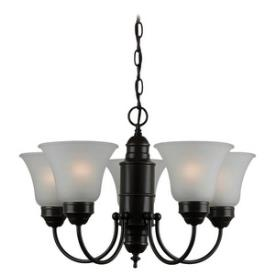 Sea Gull Lighting 31236-782 Linwood - Five Light Chandelier