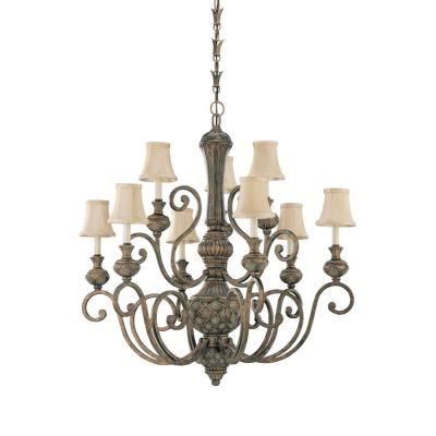 Sea Gull Lighting 31252-758 Nine-light Highlands Chandelier