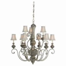 Sea Gull Lighting 31252-824 Nine-light Highlands Chandelier