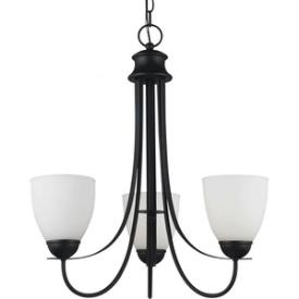 Sea Gull Lighting 31270BLE-839 Uptown - Three Light Chandelier