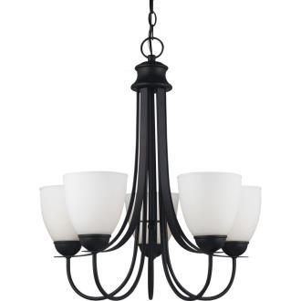 Sea Gull Lighting 31271BLE-839 Uptown - Five Light Chandelier