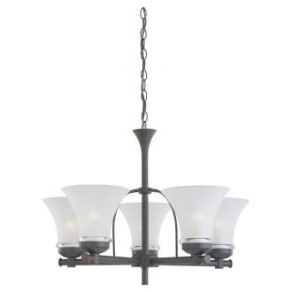 Sea Gull Lighting 31283-814 Five-Light Newport Chandelier
