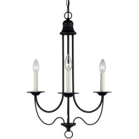 Sea Gull Lighting 31290-839 Plymouth - Three Light Chandelier
