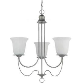 Sea Gull Lighting 31291-57 Plymouth - Three Light Chandelier