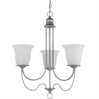 Sea Gull Lighting 31291BLE-57 Plymouth - Three Light Chandelier