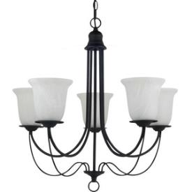 Sea Gull Lighting 31292BLE-839 Plymouth - Five Light Chandelier