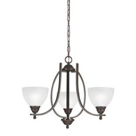 Sea Gull Lighting 3131403-715 Vitelli - Three Light Chandelier