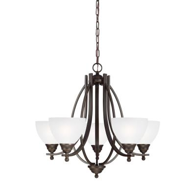 Sea Gull Lighting 3131405-715 Vitelli - Five Light Chandelier