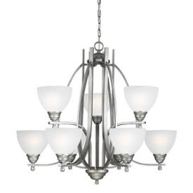 Sea Gull Lighting 3131409BLE-57 Vitelli - Nine Light Chandelier
