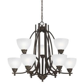 Sea Gull Lighting 3131409BLE-715 Vitelli - Nine Light Chandelier
