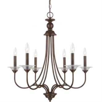 Sea Gull Lighting 31318-710 Lemont - Six Light Chandelier