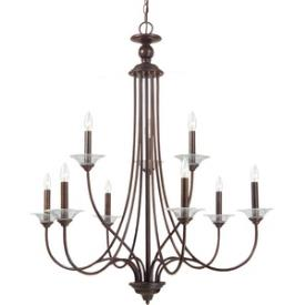 Sea Gull Lighting 31319-710 Lemont - Nine Light 2-Tier Chandelier
