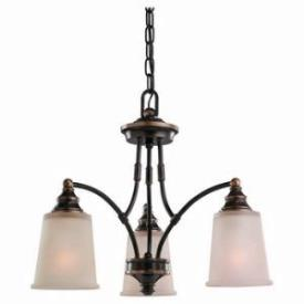 Sea Gull Lighting 31330-825 Three-Light Warwick Chandelier