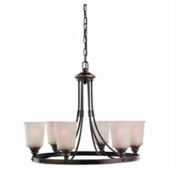 Sea Gull Lighting 31331-825 Six-Light Warwick Chandelier