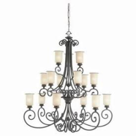 Sea Gull Lighting 31347-814 Fifteen-Light Acadia Chandelier