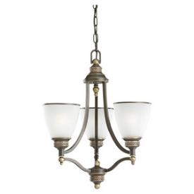 Sea Gull Lighting 31349-708 Laurel Leaf - Three Light Chandelier