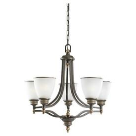 Sea Gull Lighting 31350-708 Laurel Leaf - Five Light Chandelier