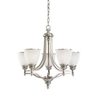 Sea Gull Lighting 31350-965 Five Light Laurel Leaf Chandelier