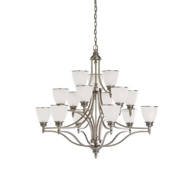 Sea Gull Lighting 31352-965 Fifteen Light Multi-tier Chandelier