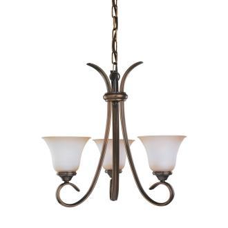 Sea Gull Lighting 31360-829 Three-Light Rialto Chandelier