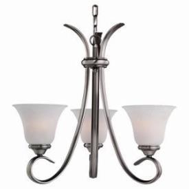 Sea Gull Lighting 31360-965 Three-Light Rialto Chandelier