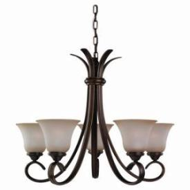 Sea Gull Lighting 31361-829 Five-Light Rialto Chandelier