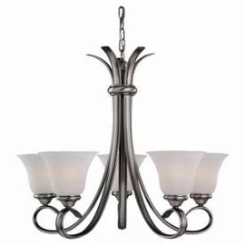 Sea Gull Lighting 31361-965 Five-Light Rialto Chandelier
