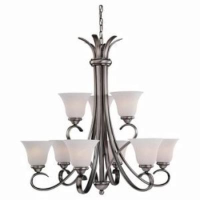 Sea Gull Lighting 31362-965 Nine-Light Rialto Chandelier