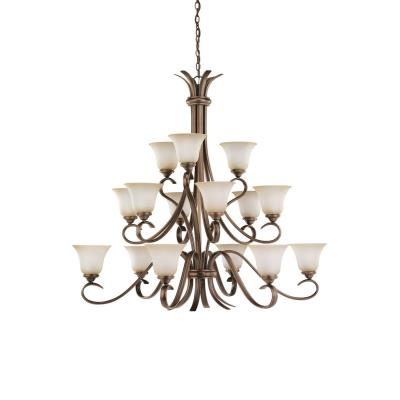 Sea Gull Lighting 31363-829 Fifteen-Light Rialto Chandelier