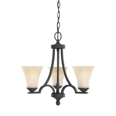 Sea Gull Lighting 31375-839 Three Light Chandelier