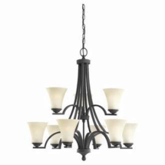 Sea Gull Lighting 31377-839 Nine Light Chandelier