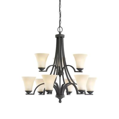 Sea Gull Lighting 31377-839 Nine Light Chandelier
