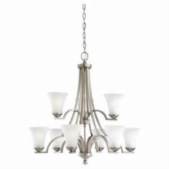 Sea Gull Lighting 31377-965 Nine Light Chandelier