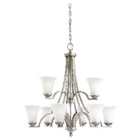 Sea Gull Lighting 31377BLE-965 Somerton - Nine Light 2-Tier Chandelier