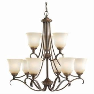 Sea Gull Lighting 31381-829 Nine Light Chandelier